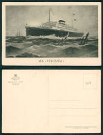 BARCOS SHIP BATEAU PAQUEBOT STEAMER [BARCOS #01758] - M/S VULCANIA - Dampfer