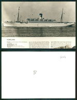 BARCOS SHIP BATEAU PAQUEBOT STEAMER [BARCOS #01777] - HOMELAND - Dampfer