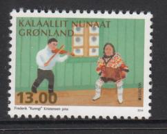 Greenland MNH 2014 13k Fiddle - National Musical Instruments - EUROPA - Groenland