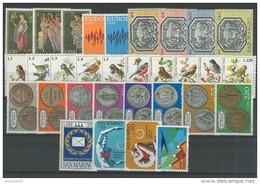SAN MARINO - 1972 - Annata Completa + Posta Aerea - 31 Valori - Year Complete ** MNH/VF - Saint-Marin