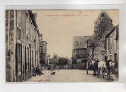 SAINT CHRISTOPHE EN CHAMPAGNE - Place De L'Eglise - Très Bon état - France
