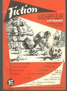 FICTION N° 16 Mars 1955 Revue Littéraire De L'étrange Fantastique Et Science Fiction - Levi CROW, Roger DEE  Etc - Libri, Riviste, Fumetti