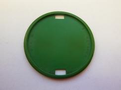 Macaron Plastique Vert Pour Insigne De Béret - France