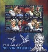 Centrafrica 2013, Nelson Mandela, Queen Elisabeth, Beyoncè, C. Dion, Fidel Castro, 4val In BF - Singers