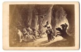 Photo Die Schatzgräberin, Höllenhund Cerberus, Gemälde Von Tenier - Foto's