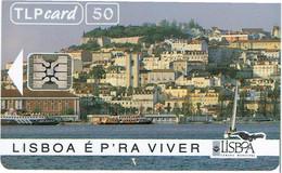 PHONECARDS-- PORTUGAL-CHIP--50- LIBOA É P´RA VIVER - Portugal