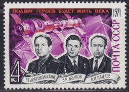 "Russia USSR Soviet Union 1971 ""Soyuz 11"" Crew, MNH (**) Michel 3937 - 1923-1991 USSR"