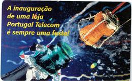 PHONECARDS-- PORTUGAL-CHIP--10-- -----....É SEMPRE UMA FESTA--- 10.000 - Portugal