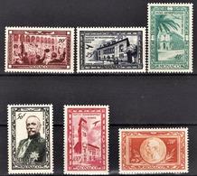 MONACO 1949  SERIE DU N° 36 A 41  - NEUFS**  /1 - Poste Aérienne