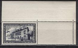 MONACO 1949 COIN DE FEUILLE  N° 37  - NEUF** - Posta Aerea