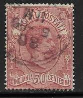 Italy, Scott # Q3 Used Parcel Post, 1884 - Used
