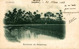 1903  TONKIN  ENVIRONS DE HAIPHONG  ASIE INDOCHINE - Vietnam