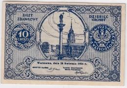 POLAND 1924 10 Groszy - Poland