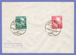 GER  1949 Federal Assembly FDC 09-07-1949 - [7] Federal Republic