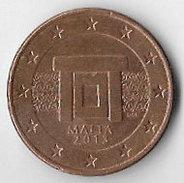 Malta 2013 5 (Euro) Cents [C157/1D] - Malta