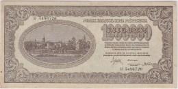 POLAND 1923 1 Million Marek D 5486720 Circulated - Poland