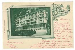 Suisse // Schweiz // Switzerland //  Berne //  Gruss Aus Weissenburg - BE Berne