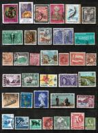 BRITISH COMMONWEALTH---Collection Of USED DL-342