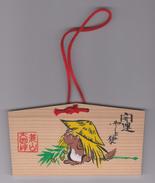 Ex-voto Japan 2010 Racoon Dog - Tanuki - Nyctereutes Procyonoides Viverrinus - Seizoenen En Feesten