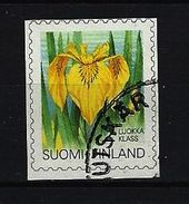 FINNLAND - Mi-Nr. 1199 Freimarke Gelbe Schwertlilie (Iris Pseudacorus) Gestempelt (3) - Finlande