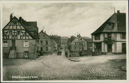 AK Bexbach, Mittelbexbach, Teilansicht, Um 1932 (23302) - Saarpfalz-Kreis