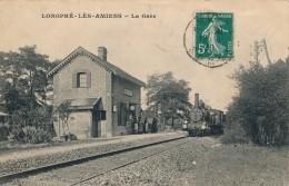 G103 - 80 - LONGPRÉ-LÈS-AMIENS - Somme - La Gare - France