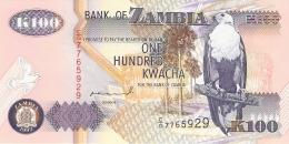 ZAMBIE   100 Kwacha   1992   Sign.10   P. 38a   UNC - Zambie