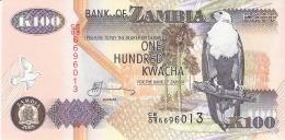 ZAMBIE   100 Kwacha   2005   Sign.12   P. 38e   UNC - Zambie