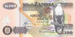 ZAMBIE   100 Kwacha   2006   Sign.12   P. 38f   UNC - Zambie