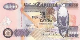 ZAMBIE   100 Kwacha   2008   Sign.12   P. 38g   UNC - Zambie