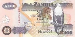 ZAMBIE   100 Kwacha   2009   Sign.12   P. 38h   UNC - Zambie