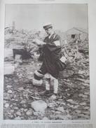 JAPON  Tokyo Tokio Japan  Le Facteur Embarassé Postman   Tremblement De Terre  1923 - Tokyo
