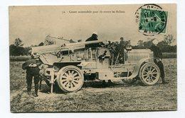 CPA  Militaria  :  Canon Automobile  1911    A  VOIR  !!!! - Matériel
