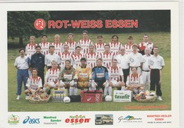 Football -  équipe  ROT-WEISS  ESSEN  - Dos Publicitaire  105x150 - Soccer