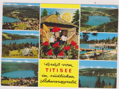 ALLEMAGNE,DEUTSCHLAND,GERMANY,BADE WURTEMBERG,LAC TITI ,TITISEE,schwarzwald, Lac De La Foret Noire,land,glaciaire - Titisee-Neustadt