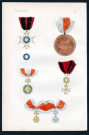"""Etats De L'Eglise"" - Stato Della Chiesa Kirchenstaat Medal Orden Decoration Medaille - Stiche & Gravuren"
