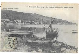 CREUX ST GEORGES PRES TOULON-QUARTIER DES RUSSES - Toulon