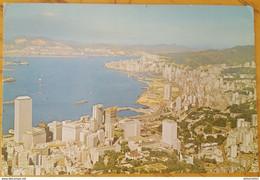 HONG KONG - CENTRAL & EASTERN DISTRICTS FROM THE PEAK   Nv - Cina (Hong Kong)