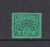 Italian States Papal States 1868 2 Centesimi Mint - Papal States