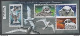 TAAF, FRENCH ANTARCTIC, 2017, MNH,BIRDS, SHEETLET - Birds