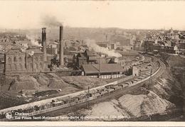Belgique : Charleroi - Hainaut  Les Fosses Sacré-madame Et Sainte Barbe Et Panorama De La Ville Haute Réf  2789 - Charleroi