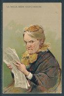 La Belle-Mère Soupçonneuse - Carte En Relief - Humour