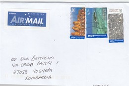 Australia  2017 - Busta X L'Italia  Affrancata Con 3 Stamps - 2010-... Elizabeth II
