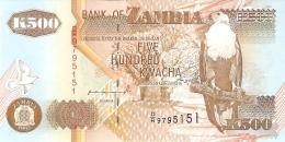 ZAMBIE   500 Kwacha   1992   Sign.10   P. 39a   UNC - Zambia