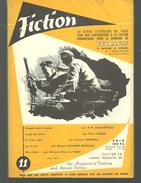 FICTION N° 11 Octobre  1954 Revue Littéraire De L'étrange Fantastique Et Science Fiction - AP DUCHATEAU, F LEIBER   Etc - Libri, Riviste, Fumetti