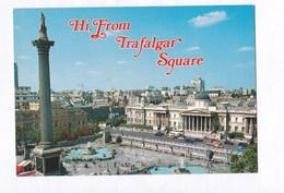 Royaume Uni London  Trafalgar Square  TBE