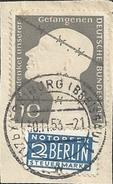 RFA 1952 - Y&T N° 49  - Oblitérés Sur Fragment - Prisonnier De Guerre Et Notopfer Steuermarke - Neufs