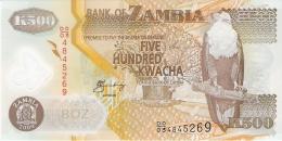 ZAMBIE   500 Kwacha   2009   Sign.12   P. 43g  UNC - Zambie