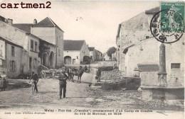 MELAY LA RUE DES CRAVATES CAMP DE CROATES DU SIRE DE BORNIVAL 52 HAUTE-MARNE CROATIE - Frankrijk