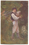 CROATIA, Posavina, I. TIŠOV Painter - BAGPIPE, CORNEMUSES, Music, Ethno, Art PC - Europa
